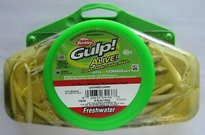 "Berkley Gulp! ALIVE! Minnow - 6.9 Oz. - 2-1/2"" - Watermelon Pearl"