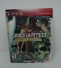 Uncharted: Drake's Fortune -Playstation 3 NEW/SEALED - PS3 DOWNLOAD CARD CODE