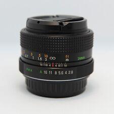 Objectif Grand Angle Auto-BEROFLEX 28mm f/2,8 (PENTAX P/K Numérique/Argentique)
