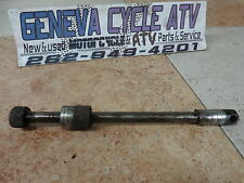 Front Axle & Nut Yamaha YL1 1967 yl100 Twinjet Classic Bobber Cafe Racer Part