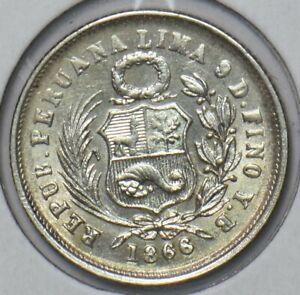 Peru 1866 Dinero 295730 combine shipping