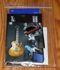 Gibson Les Paul Standard T Case Candy Manual Warranty Wrench Cloth Guitar Parts