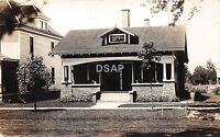 A79/ Geneseo Illinois Il Real Photo RPPC Postcard c1910 Home Porch