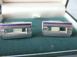 Thomas Pink stylish cufflinks - enamelled