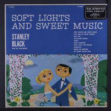 STANLEY BLACK: Soft Lights And Sweet Music LP (Mono, styrene disc)