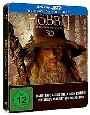 Der Hobbit Eine unerwartete Reise 3D Limited Lenticular Steelbook Blu-ray] NEU