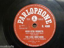 78 Rpm el rey hermanos Miss Otis lamenta/poner una luz en la ventana