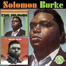 King Solomon/I Wish I Knew by Solomon Burke (CD, Oct-2005, Collectables) Sealed
