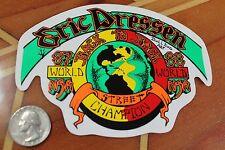 Eric Dressen Dogtown NSA Vintage 1987-88 BDS DTS SMA Champion Skateboard sticker