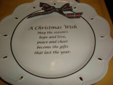 Lenox A Christmas Wish Plate New In Box
