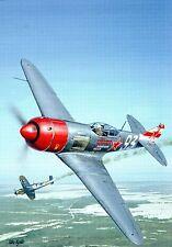 Postcard Aircraft Lavachkin La-7  modern card / large