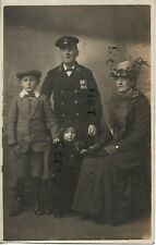 WW1 CPO Gunner Long Royal Navy with Family wears medals China 1900 Tibet Medal ?