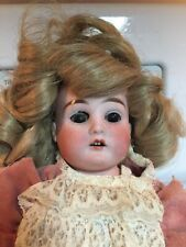 "Antique Heubach Koppeldorf BeBe Bisque 15"" Doll 189 6/0"