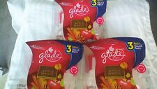 9 Glade Plugins Scented Oil Refills Spiced Apple Magic Cinnamon Autumn Fall Air