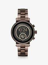 Michael Kors Access Sofie (MKT5075) 41mm Steel Sable-Tone Touchscreen Smartwatch