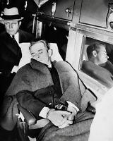 John Dillinger Photo 8X10 - 1934 In Custody Sleeping - Buy Any 2 Get 1 Free