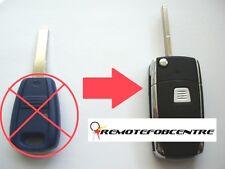1 Botones Flip Llave Carcasa de actualización para Fiat Panda Punto Stilo Bravo SIP22 remoto