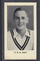 Thomson - The World's Best Cricketers 1958 - # 8 Peter May - Surrey