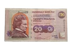 More details for a/ap 290429 £20 clydesdale banknote glasgow city of architecture and design 1999
