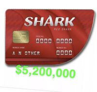 GTA 5 ONLINE $5.2 MILLION SHARK CARD (PS4 ONLY)