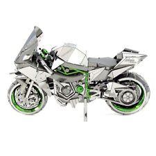 Fascinations ICONX 3D Steel Model Kit Kawasaki Ninja H2R Motorcycle Model