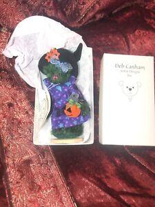 DEB CANHAM Artist Designs SPELLCHICK Halloween  #451 Of 500 Limited Edi