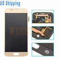 Gold LCD Screen Touch Digitizer Assembly For Samsung Galaxy S7 G930 G930A G930V