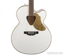 New! Gretsch G5022CWFE White Falcon Jumbo Acoustic Electric Guitar - In Stock!