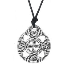 Irish Knot Love Pendant Viking Norse Rune Necklace Wiccan Pagan Asatru Jewelry