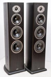 Acoustic Energy Aelite Three 3 floorstanding speakers - working well