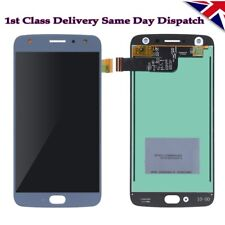 New Moto X4 XT1900 Complete Display LCD + Digitizer Screen Sterling Blue UK