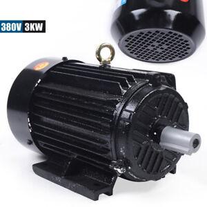 3 phas Motor Elektromotor 3KW 380V 3000 U/min Ausführung Welle Asynchronmotor