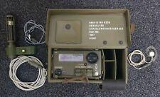 Strahlungsmessgerät Geigerzähler Bundeswehr 1987 mit Sonde