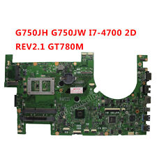 For ASUS G750JH G750JW Motherboard I7-4700HQ 2D REV2.1 60NB0180-MB2040 Mainboard