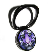 Purple Tiger Universal Phone Mount/Holder Black Metal Finger Ring Phone Stand