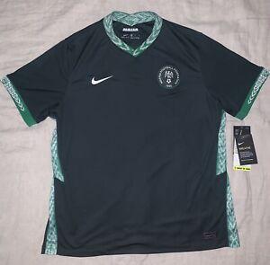 Nigeria Nike Stadium Away Kit Soccer Jersey Men's XL Brand New NWT