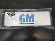 GENUINE GM NUMBER PLATE FRAMES - HOLDEN GM
