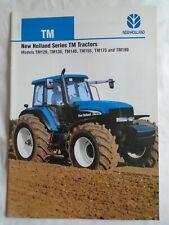 New Holland Series TM Tractors brochure Apr 2004