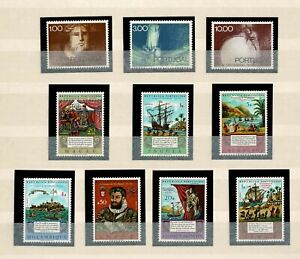 Portugal and Overseas MNH COMPLETE set 1972 Book Lusiadas Chronicle 7+3 stamps