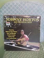 Johnny Horton His Original Hits 1982 Showcase of Musical Entertainment LP record