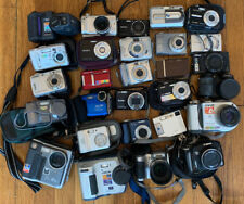 Huge Lot Of Digital Point And Shoot Cameras, Nikon, Zeiss Lens, Canon, Sony