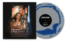 Star Wars Attack Of The Clones - 2 x LP Gatefold Silver Vinyl - John Williams