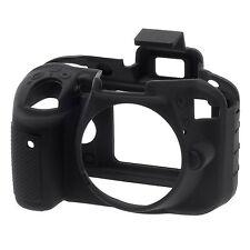 EasyCover Pro Silicone Skin Camera Armour Case Nikon D3300 in Black (UK Stock)
