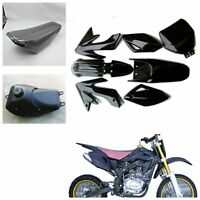 BLK Plastic Fender Kit for 200cc 250cc Atomik Hummer Style Dirt Pit Trail Bike