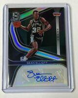 2019-20 Panini Spectra Basketball SEAN ELLIOT autograph #18/99