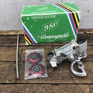 Vintage Campagnolo 980 Rear Derailleur Campagnolo + New RED Pulleys