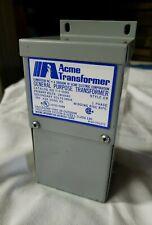 T-1-81061 Acme 240 X 480V Pri 24 x 48V Sec .050 KVA Transformer NEW!