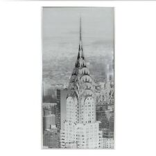 CHRYSLER BUILDING SPARKLY GLASS CANVAS, SPARKLY BLING CANVAS PICTURE