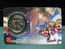 2000 Celebration Canadian Quarter ($0.25) **SEALED**