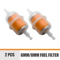 2 pezzi universale auto GRANDE  Filtro carburante linea flessibile DIESEL 6/8mm